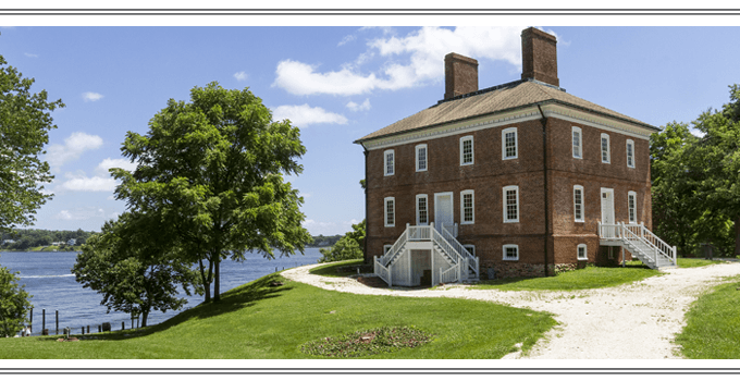 Edgewater, Maryland. William Brown House, Londontown