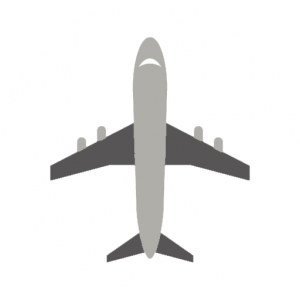 Airport icon white background