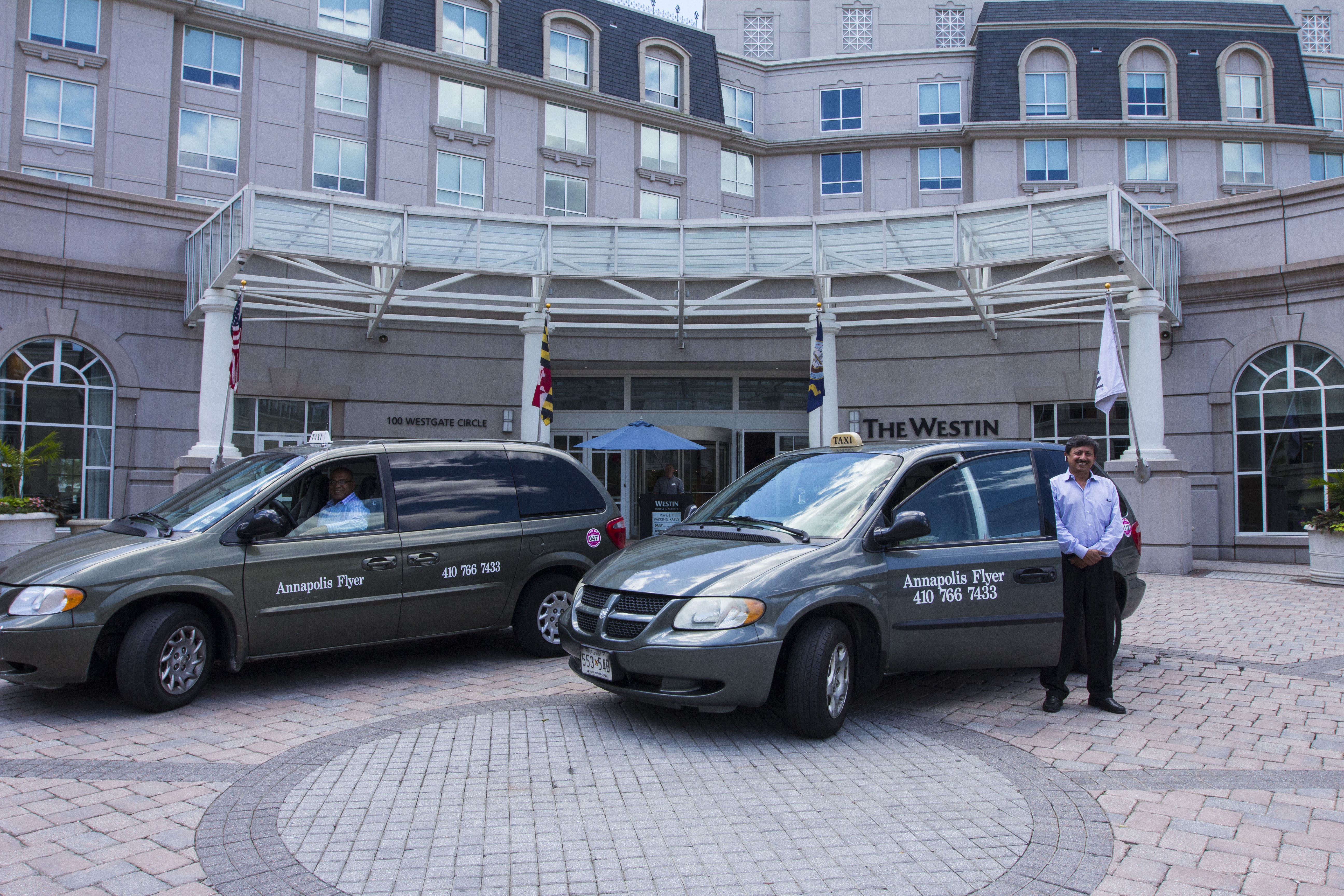 Annapolis Flyer Cab at The Westin in Annapolis