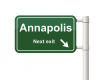 Annapolis Exit Sign