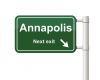 Annapolis Exit Sign